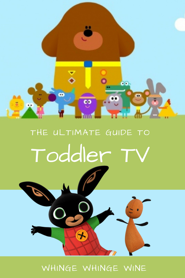 The ultimate guide to toddler TV - what is hot to watch and which TV programs to totally avoid! #MrTumble #HeyDuggee #Bing #CBeebies #mumlife #toddlers #funny #parenting