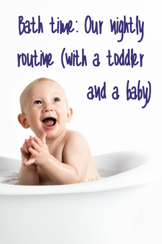 Bath time: Our nightly routine with a toddler and a baby #mumlife #momlife #parentingforreal #realparenting #thisismotherhood #babiesandtoddlers