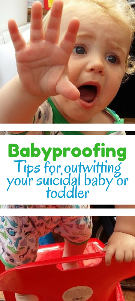 Tips for babyproofing/toddler proofing your home. Need to outwit your toddler? #parenting #parentingtips #momlife #momadvice #mumlife #mumadvice #parentingadvice #babyproofing #toddlers