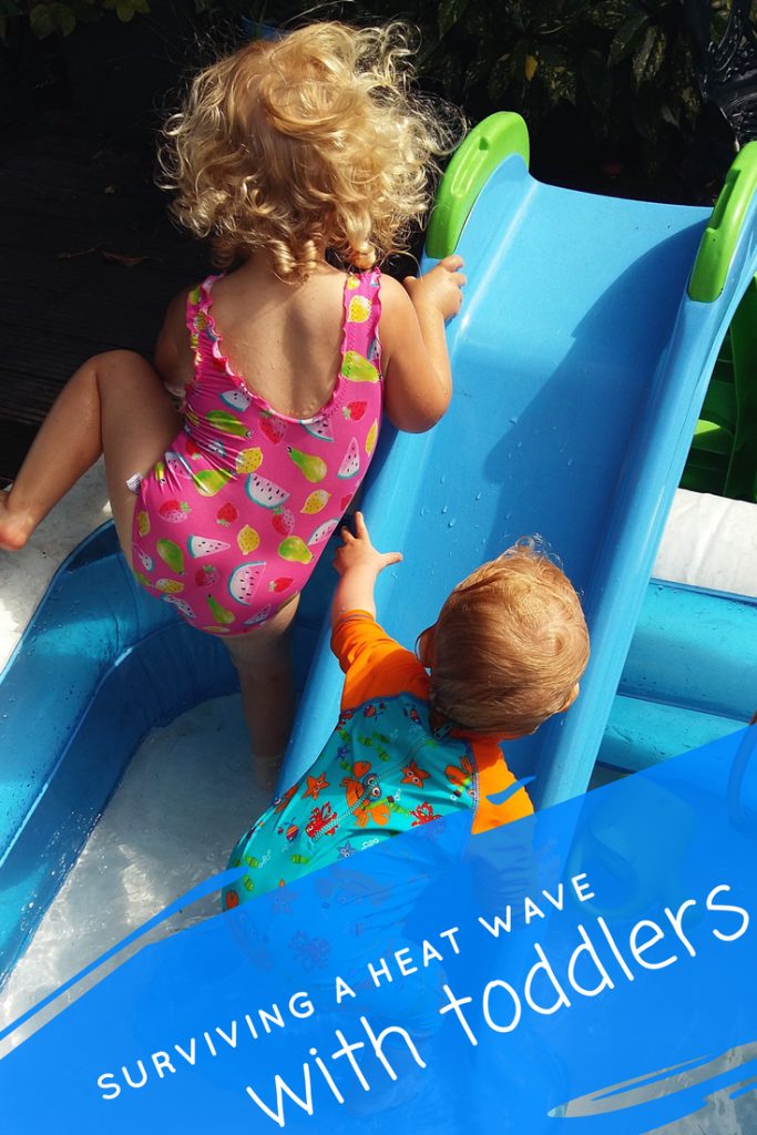 The heat is on: My top tips for how to survive a heat wave when you have small children! #parentingtips #parentingadvice #toddlers #kids #summer #heatwave