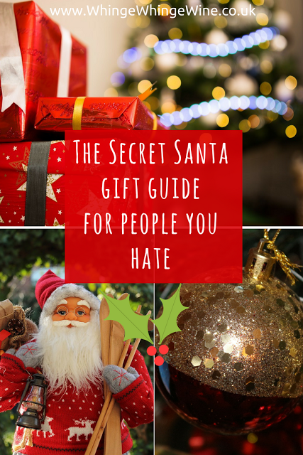 Our alternative Christmas gift guide: what to buy your office Secret Santa when they're a massive bell-end.