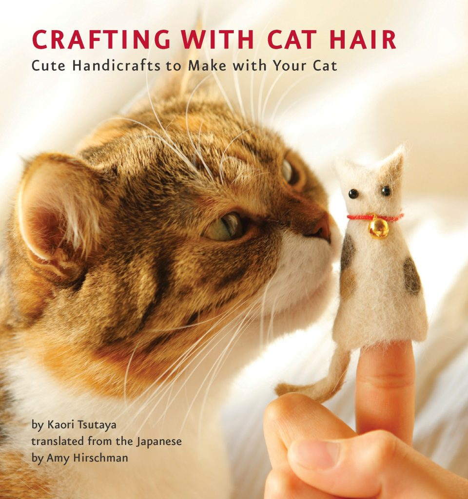 crafting with cat hair - shit secret santa gifts for twats