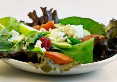salad - new year's resolutions for mums