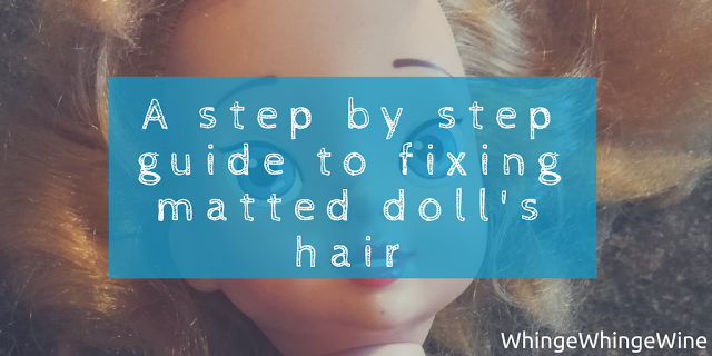 A Step By Step Guide How To Fix Matted Doll S Hair In