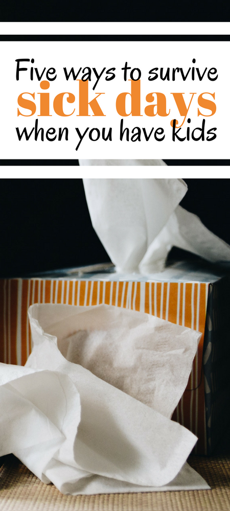 Sick days as a parent suck! Here is my survival guide for sick days when you have kids! Here are five tried-and-tested things you can do to lift your mood if you're stuck in the house feeling like a complete sack of crap #kids #parenting #momlife #humor #tips #mumlife #toddlers #flu #mum #mom