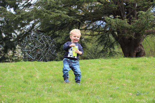 An Easter Bunny hunt and Bluebells at Riverhill Himalayan Gardens, Sevenoaks, Kent