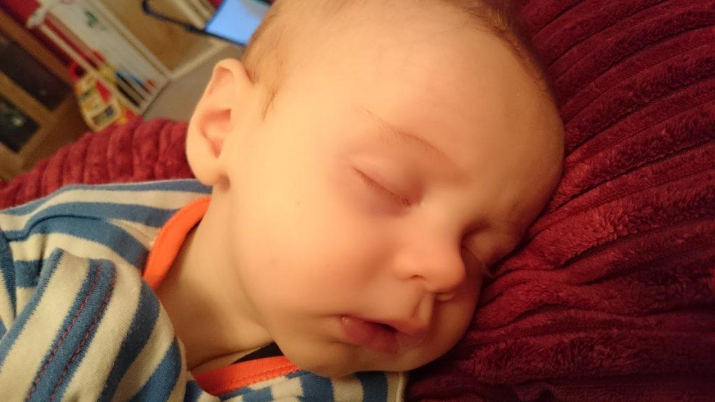baby sleeping cherish every moment