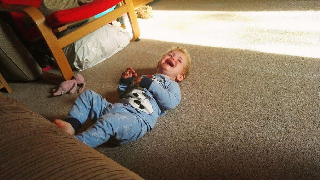 sad child cherish every moment