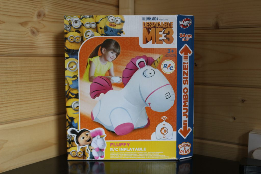 Remote control Fluffy unicorn (inflatable) from Despicable