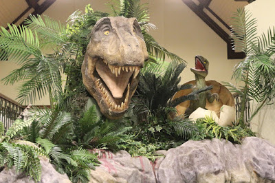 Maidstone Museum dinosaur exhibit - free places to go with kids in Maidstone