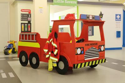 Little Street Maidstone indoor pretend play centre fire engine
