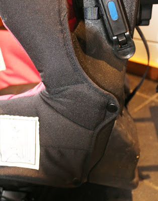 Removing the covers from an Axkid Minikid car seat