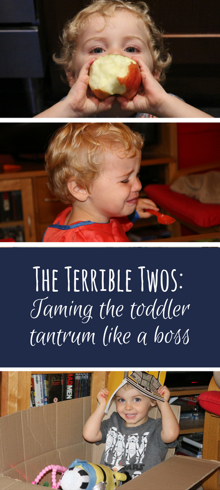 The Terrible Twos are very real: Taming the toddler tantrum like a true mum boss. How to deal with toddler tantrums; tried and tested methods for dealing with the frequent irrational meltdowns experienced by my two year old