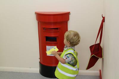 Little Street Maidstone indoor pretend play centre postbox