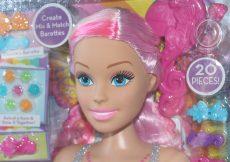 Barbie dreamtopia styling head in box