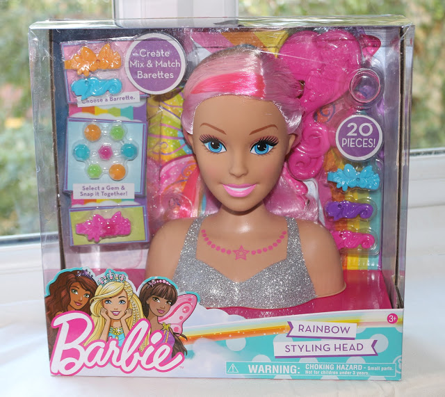 Barbie Dreamtopia Rainbow Styling Head review - Barbie Styling Head
