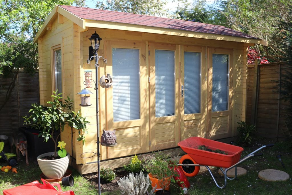 Reasons to get a garden office shed outbuilding log cabin!