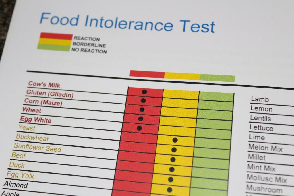 Dog Food Intolerance Test Uk