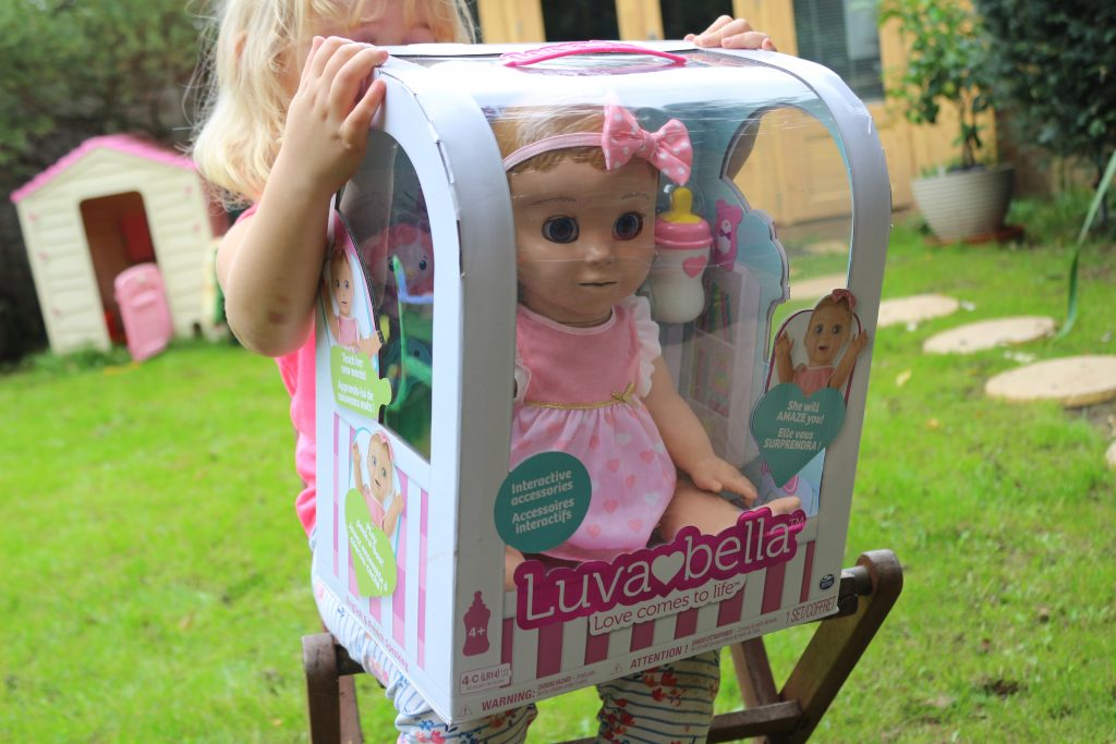 Luvabella in her box - luvabella review