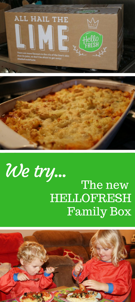 If cooking for the family is a complex task then try HelloFresh's NEW Family Box! #StressLess - Hello Fresh Family Box meal kit meal box review #food #mealkit #hellofresh #hellofreshreview #familymeal