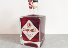 cranes blood orange cranberry liqueur (1)