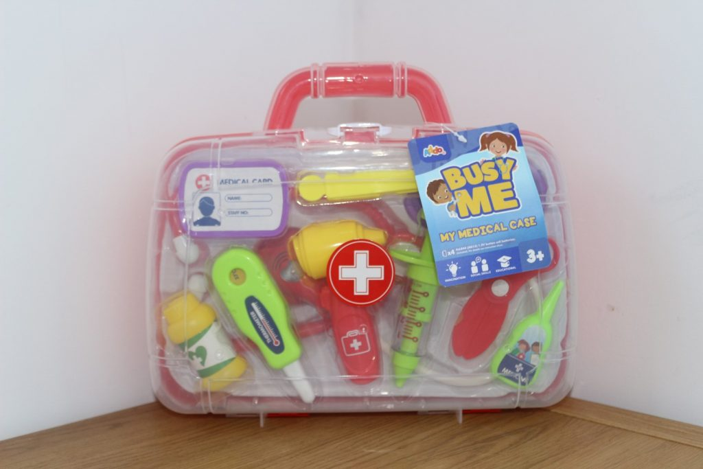 Addo Play Doctor's Kit playset Busy Me My Lights & Sounds medical kit