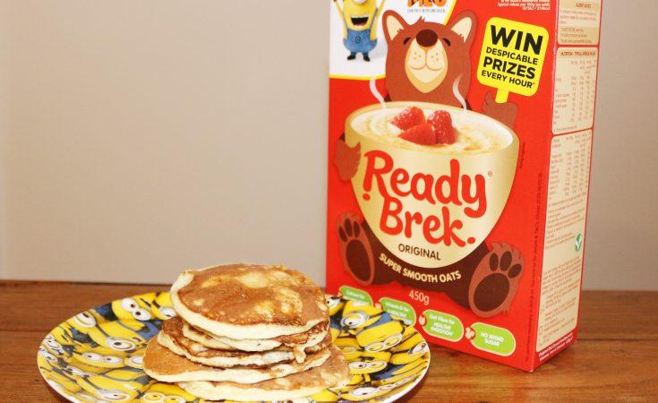 ready brek wheat free pancake recipe