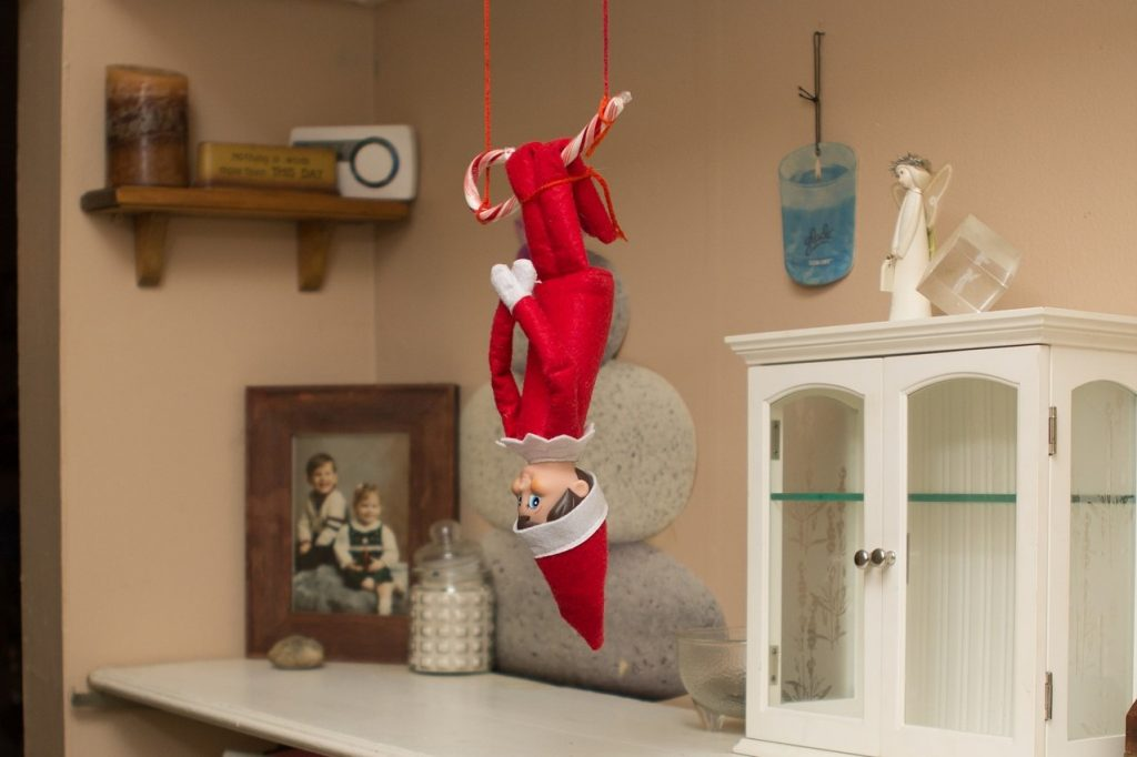Elf on the shelf ideas for all of December