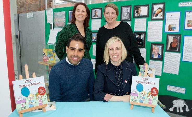 James and the Birthday Balloon book review & tips from Dr Ranj!