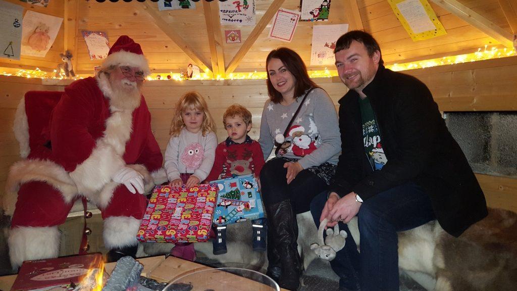 Father Christmas Brookside Garden Centre 2017