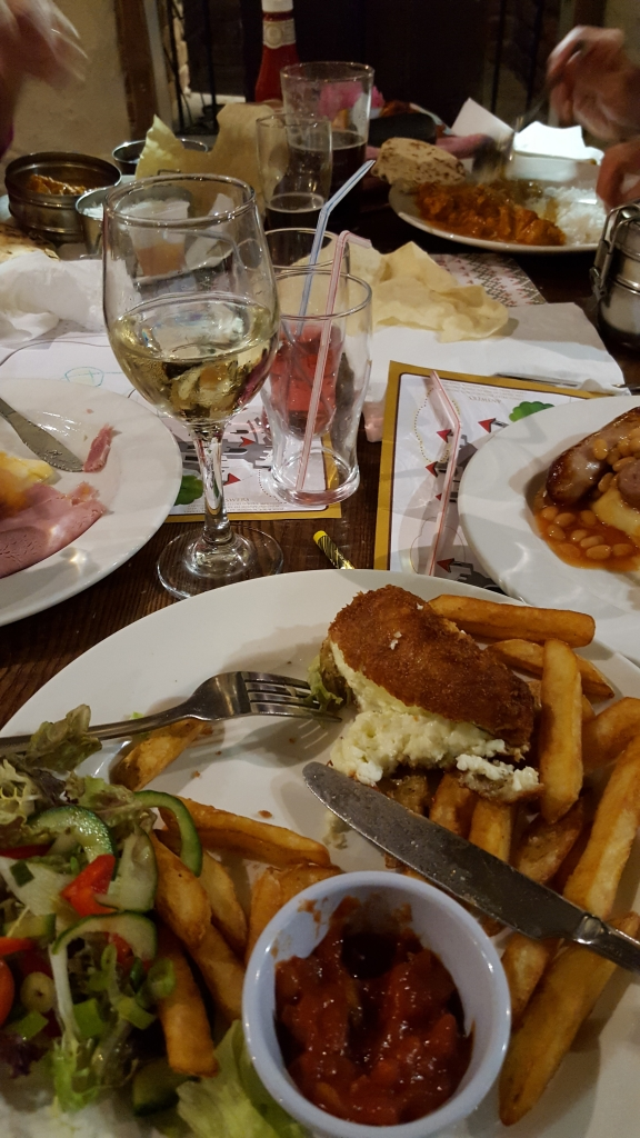 Dinner at Tafan Bluestone Wales (6)