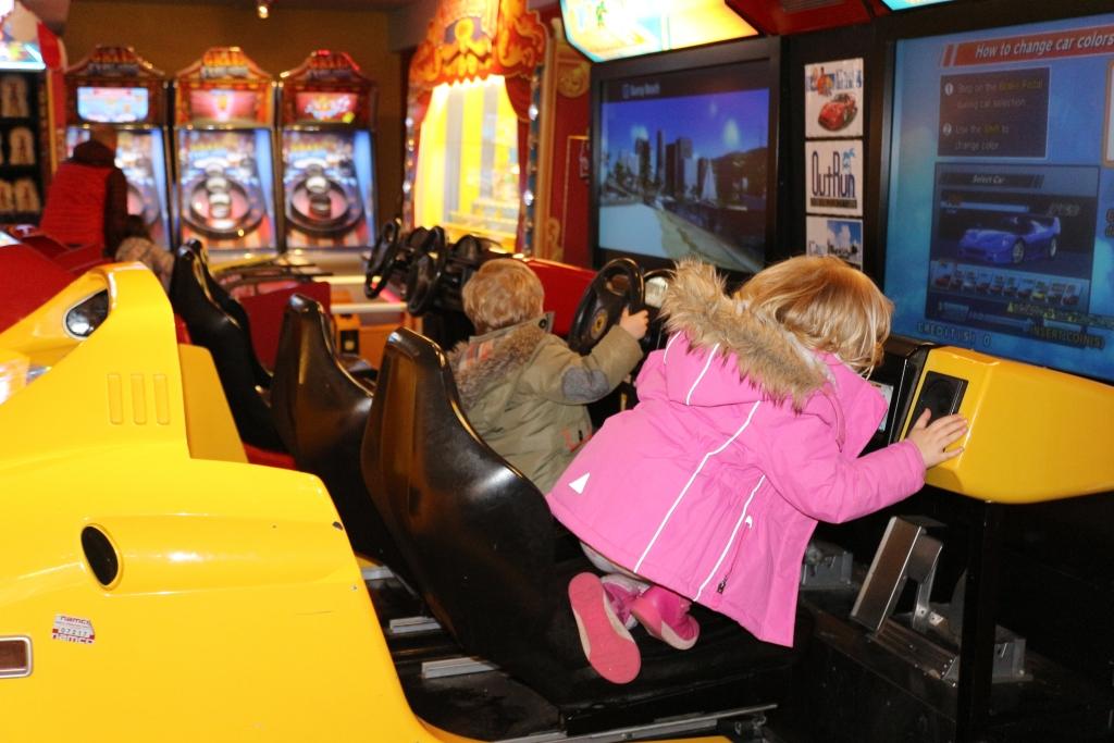 Things to do at Butlin's Bognor Regis for children under 5 arcade