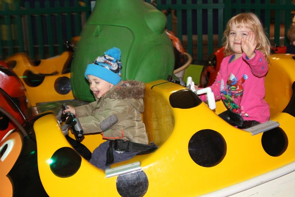 Things to do at Butlin's Bognor Regis for children under 5 rides