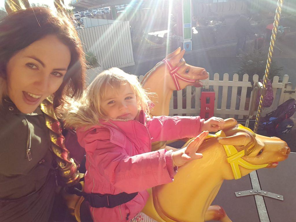 Things to do at Butlin's Bognor Regis for children under 5 rides carousel