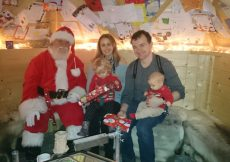 Father Christmas Brookside Garden Centre 2015