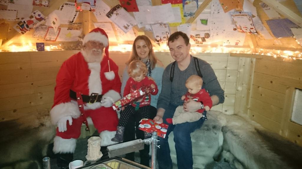 Father Christmas Brookside Garden Centre 2015