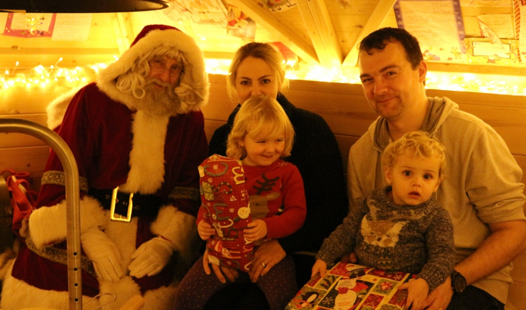 Father Christmas Brookside Garden Centre 2016