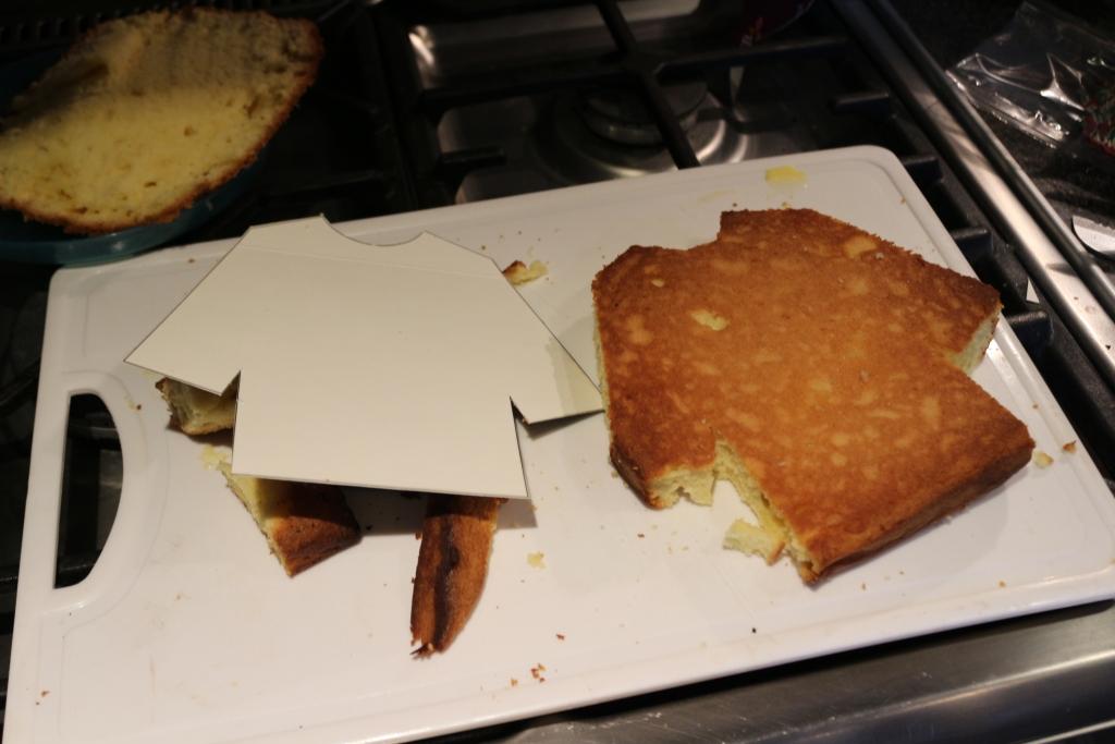 Tesco Free From Gluten Free Vanilla Christmas jumper cake