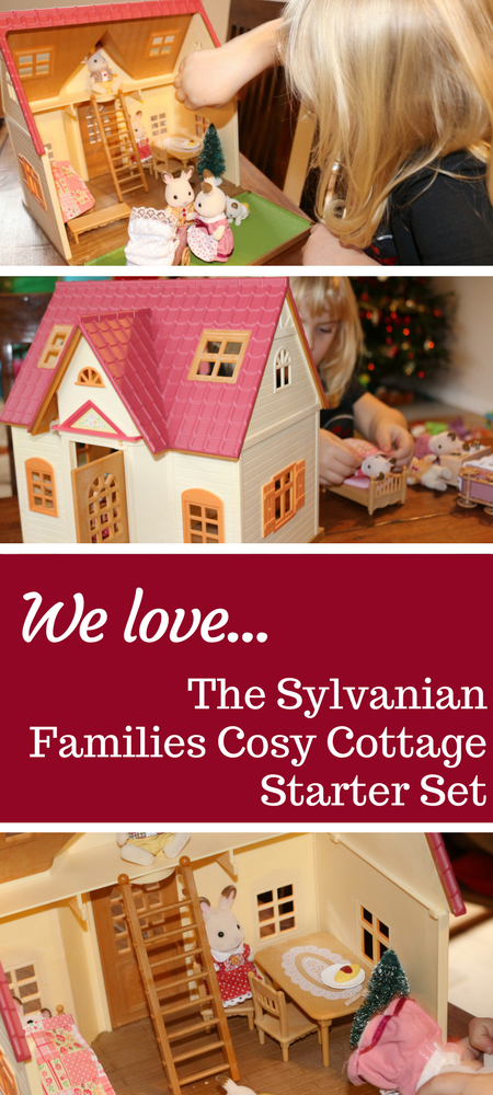 Sylvanian Famlies Cosy Cottage Starter Set and Chocolate Rabbit Family review #SylvanianFamilies #Toys #PreschoolToys