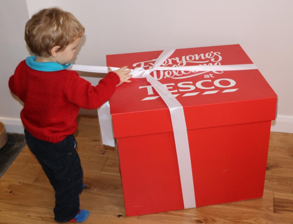 Tesco Free From Christmas Jumper Cake