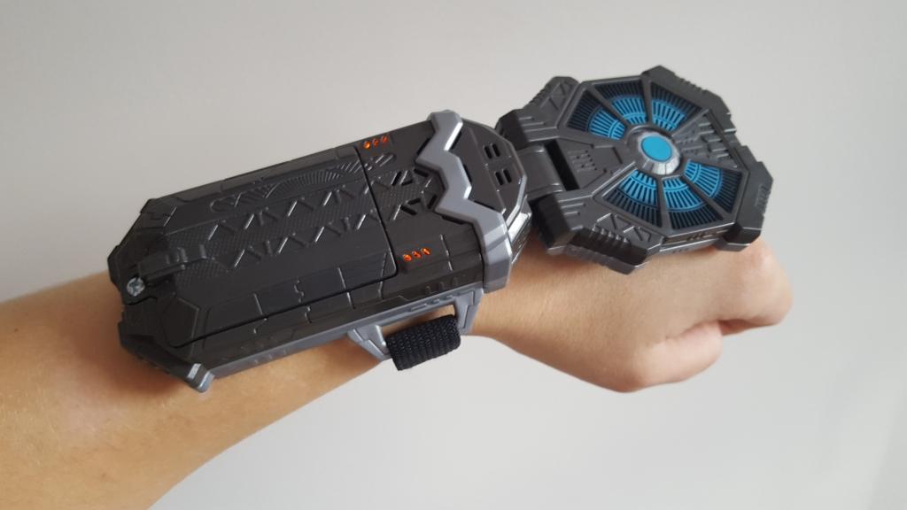 Star Wars Force Link Starter Set review wearable technology on wrist