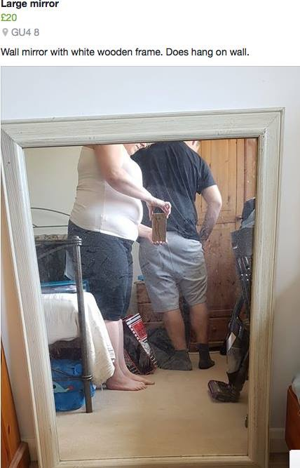 Selling mirrors fails