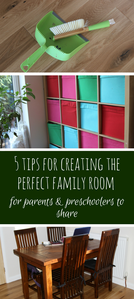 Family room ideas: How to create the perfect family room for parents and preschoolers to share, what you need to think about #playrooms #playroomideas #storage #familyroom