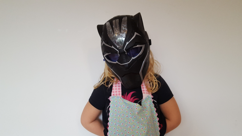 Black Panther Vibranium Power FX mask