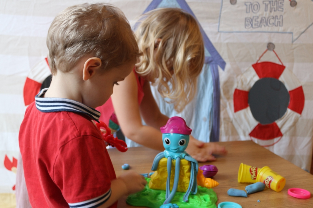 Play Doh Cranky the Octopus review