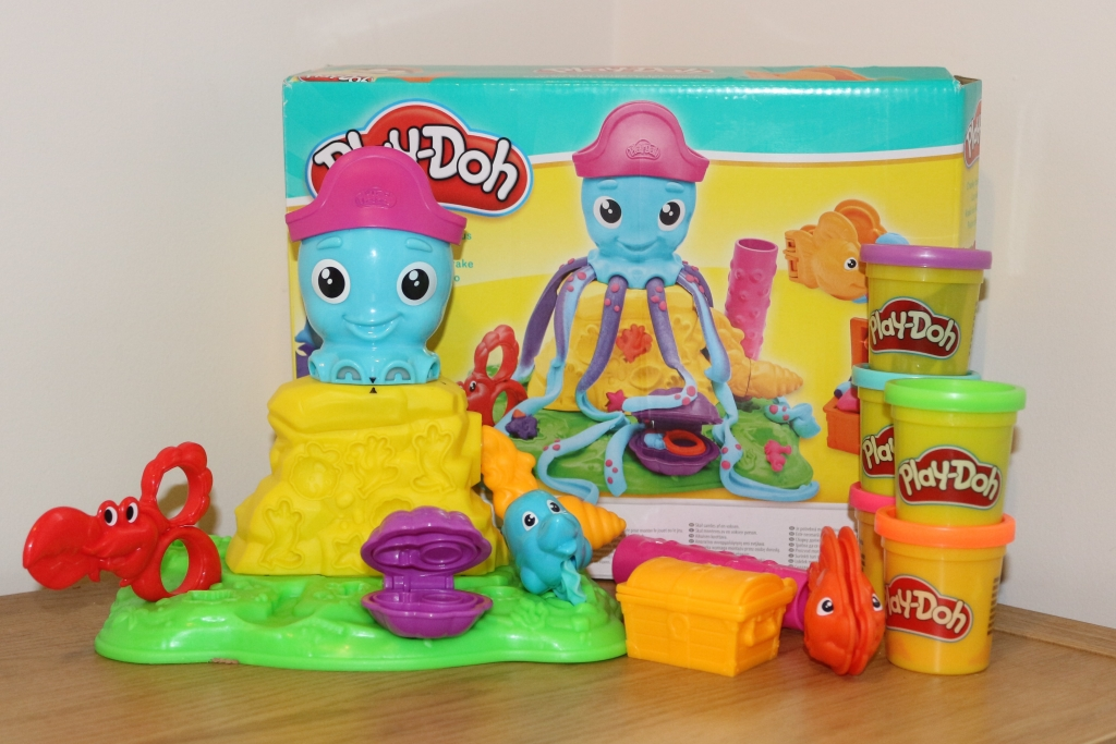 Cranky the Octopus Play Doh review