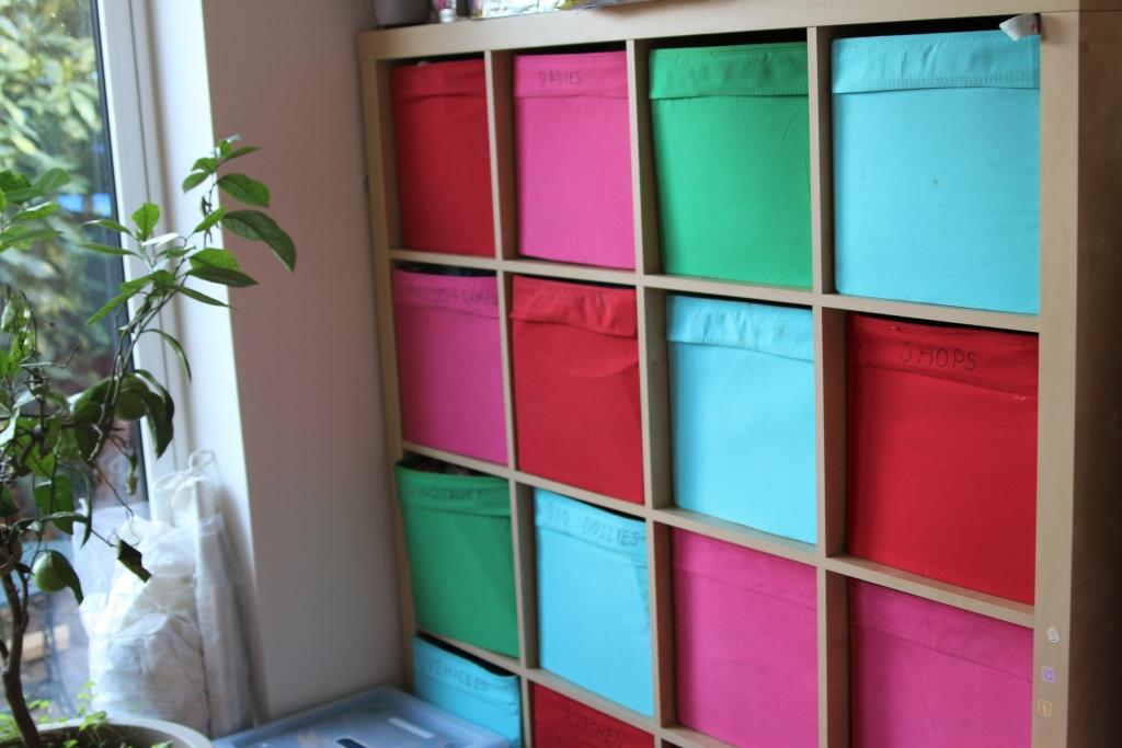 Family room ideas Storage Ikea Kallax