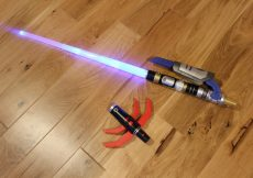 Path of the Force 2 in 1 Jedi and Sith Lighsaber with sounds and lights