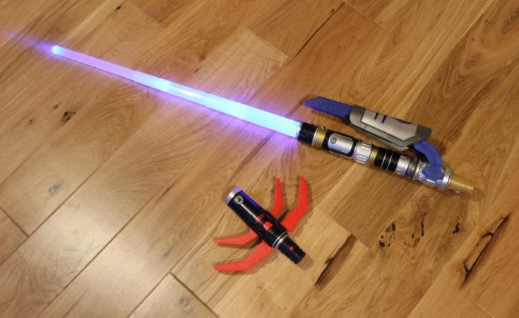 Star Wars Bladebuilders Path of the Force Lightsaber 2016 Hasbro