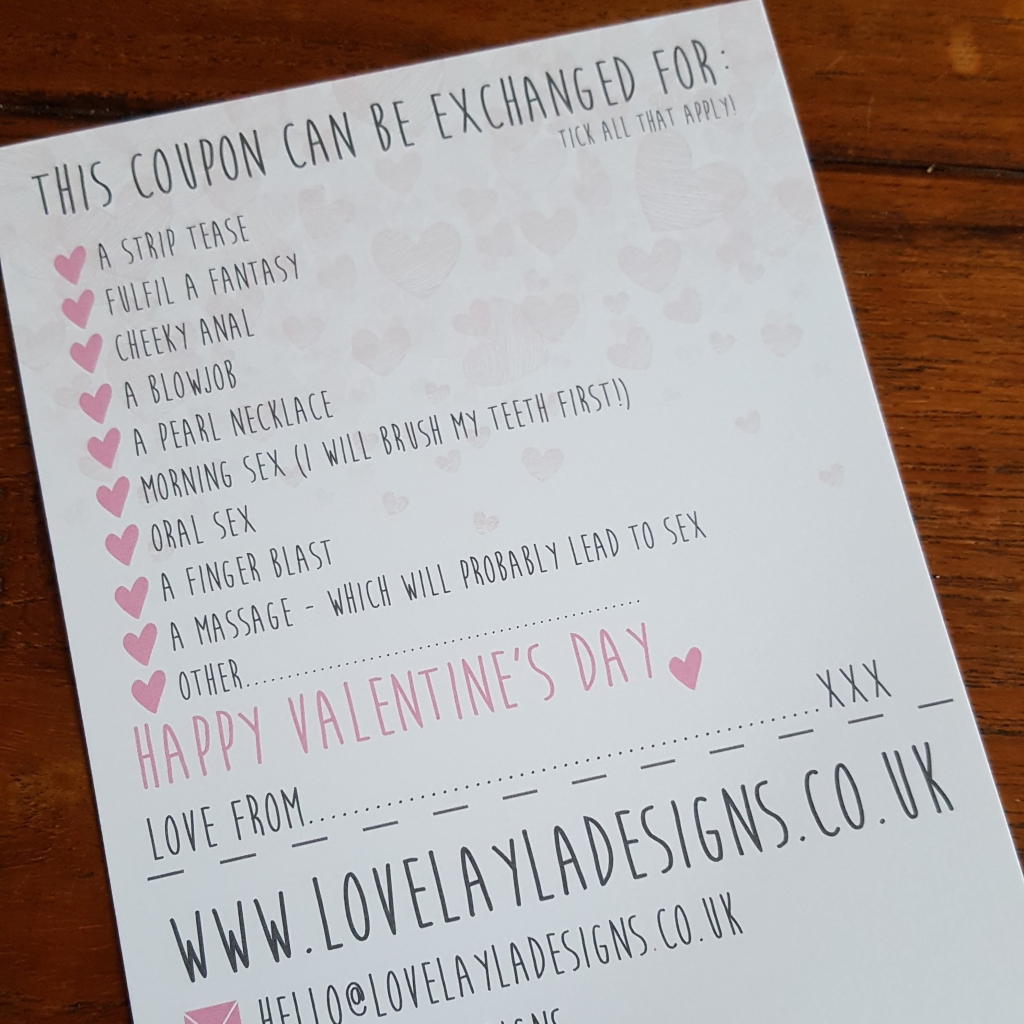 Love Layla Designs Rude Valentine's Cards (6)
